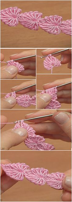 Crochet Mini Hearts String – Easy Tutorial
