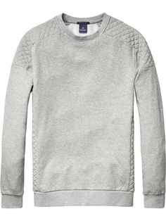 Biker Inspired Sweater | sweat | Men's Clothing at Scotch & Soda