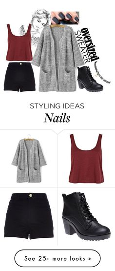 """""""outfit102"""" by rayray580 on Polyvore featuring moda, River Island i Wet Seal"""