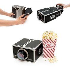 Cheap projector cheap, Buy Quality projector mobile phone directly from China phone web Suppliers: Updated Cardboard Mini Smartphone Projector/DIY Mobile Phone Projector Portable Cinema For Iphone 6/Android Proyector Br