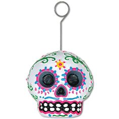 Day Of The Dead Photo/Balloon Holder (6ct)
