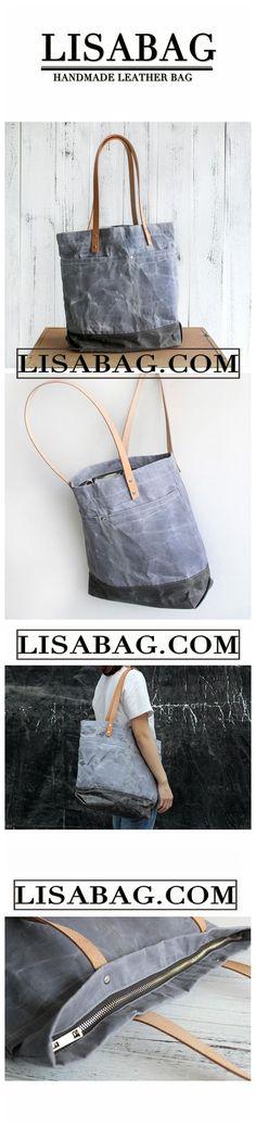 Handmade Vintage Waterproof Canvas Tote Bag Shopper Bag Handbag for Women  14891 97e97b3d2