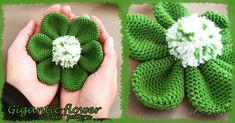 FREE CROCHET PATTERN: Gigantic flower - Maki Crochet Patterns