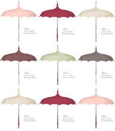 Vintage and Custom Wedding Parasols from Bella Umbrella - Junebugs Wedding Blog - Celebrating the Best in Wedding Style, Fashion, Photography and Decor