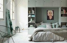 Inspiration from vtwonen | multifunctional bedrooms #bedroom #interior #green
