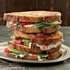 This hearty and healthy vegetarian version of the classic dipped sandwich contains part-skim ricotta, which provides bone-building calcium, and cholin