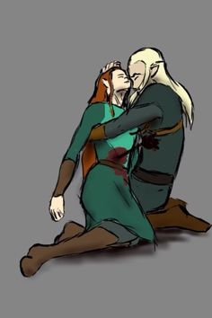 So this is her demise, and how their 'relationship' ends. Well she isn't even real!) You would think Legolas would reference to it/her in LOTR. Legolas And Tauriel, Aragorn, Thranduil, Gandalf, Fellowship Of The Ring, Lord Of The Rings, The Last Movie, One Does Not Simply, Still Love Her