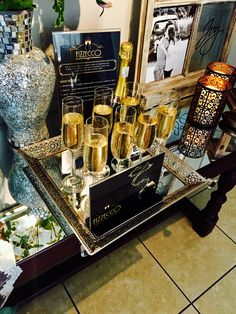 Bar Cart, Bubbles, Furniture, Home Decor, Decoration Home, Room Decor, Home Furnishings, Home Interior Design, Home Decoration