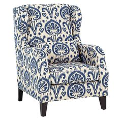Denver Fabric Accent Chair from Domayne  Hi mum thought you might like this one!