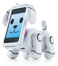 'iPhone が顔になる犬ロボット、バンダイ「スマートペット」'. it transforms your iPhone into your pet.