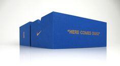 Nikedukergakyrie-trayinaslipcasebox #packagingdesign #creativedesign #marketing #marketingdesign #taylorboxcompany #Nike