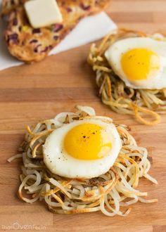 Potato Noodle Hash Browns