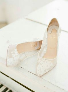 Surprise Your Groom with THIS on Your Wedding Day is part of Summer wedding shoes - Surprise your groom with a boudoir session on your wedding day—this alluring sesh from Hello Blue Photo will have you breaking out your lingerie! Converse Wedding Shoes, Wedding Heels, Bride Shoes, Wedding Groom, Ivory Wedding, Wedding Vows, Wedding Hair, Bridal Hair, Wedding Reception
