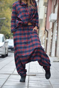 Hey, I found this really awesome Etsy listing at https://www.etsy.com/dk-en/listing/470401576/wool-cotton-harem-pants-oversize-maxi