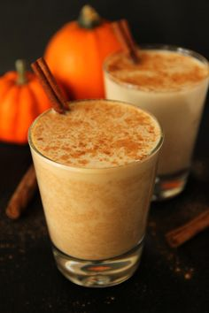 Pumpkin Chai:  1/4 cup + 1 tablespoon (75 grams) pumpkin puree  2 tablespoons maple syrup  1 1/2 teaspoons vanilla  1/4 teaspoon cinnamon  1/8 teaspoon nutmeg  1/8 teaspoon allspice  1/8 teaspoon ginger  2 cups milk of your choosing  2 bags of black tea
