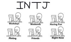 INTJ humor...but seriously.   (I do enjoy getting into Nature, reading a good…