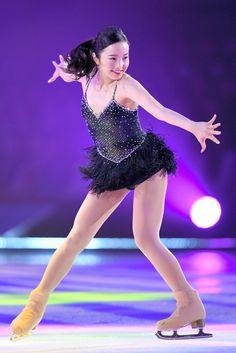 アイスショーに出演し、来季エキシビションの演技を披露する本田真凜=北村玲奈撮影 2017年5月26日