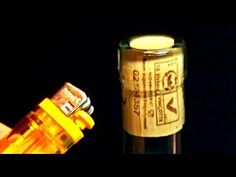 Life Hack How to Open Wine Botlle with a Lighter!