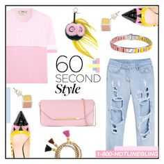 """""""60 SecondStyle"""" by misskarolina ❤ liked on Polyvore featuring Fendi, Salvatore Ferragamo, Drakes London, DRAKE, views and 60secondstyle"""