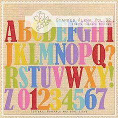 Stamped Alpha Vol.02 by Loreta Labarca