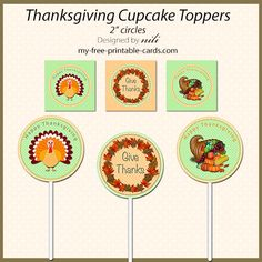 Free Thanksgiving Printables - my-free-printable-cards.com