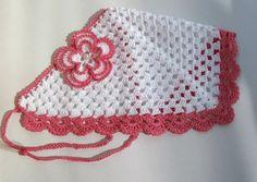 Crochet Kerchief Head Kerchief Crochet Headband by NataKnitwork