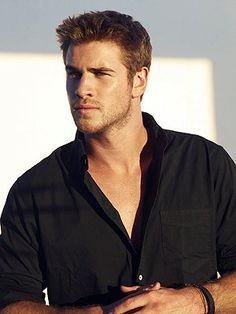 Liam Hemsworth.<3 <3 <3