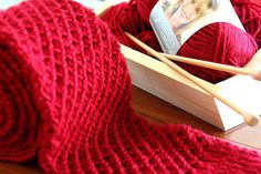 #Craft Hope Red Scarf Project