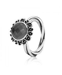 Pandora Grey Moonstone Ring 190850MSG Cheap