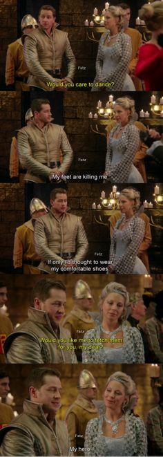 "Prince James and Princess Abigail, - ""Snow Drift"" 3*21"