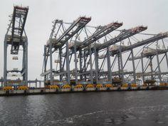 Rondvaart haven Rotterdam