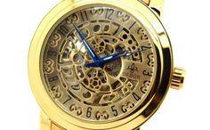 Ceas Debor Skeleton automatic + cutie cadou, la doar 99 RON in loc de 249 RON V& Ron, Alice, Scottie, Skeleton, Pocket Watch, Watches, Accessories, Shoes, Decor