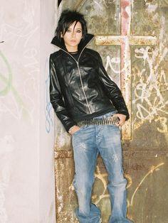 Bill Kaulitz, 2006 Photoshoot.  http://pinterest.com/tokiohotel/