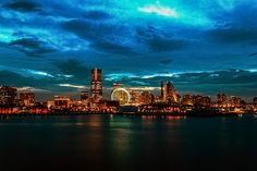 Yokohama Skyline #Yokohama #Japan #JapanWeek  Subscribe today to our newsletter for a chance to win a trip to Japan http://japanweek.us/news  Like us on Facebook: https://www.facebook.com/JapanWeekNY