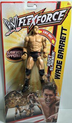 (TAS031846) - 2011 Mattel WWE Wrestling Action Figure FlexForce - Wade Barrett