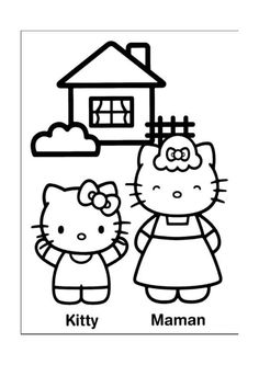 Disegni da colorare Hello Kitty 6