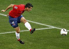 Mark Gonzalez - CSKA Moscow/Chilean National Team
