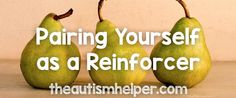 Pairing ourselves as the reinforcer with our students is the crucial first step in learning! After pairing with enjoyable activities we can introduce harder work. Learn why pairing as the reinforcer is so important!