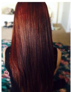 cinnaberry hair color | Hair Color: Clairol Natural Instincts Medium Auburn Brown (Cinnaberry