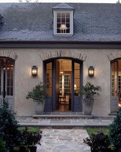 French house design exterior d architect office french house plans French Country Exterior, Country Home Exteriors, French Country Style, French Country Decorating, Country Décor, Country Kitchen, Country Patio, France Country, American Country