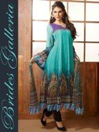 Elegant Designer Churidar Kameez dress material