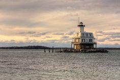 Long Beach Bar lighthouse [1871 - Orient Point, New York, USA]