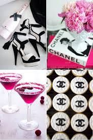 chanel themed parties