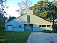 Last one ;Vanna Venturi House by Robert Venturi and Denise Scott Brown, completed in 1964, has been described as the first Postmodern building
