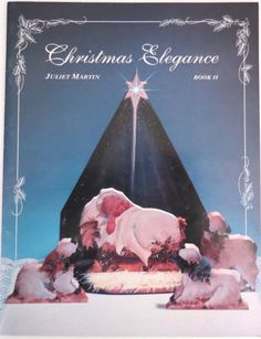 Christmas Elegance 2 Juliet Martin Tole Painting Book Three Kings Sleigh SIGNED #JulietDesigns