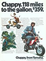 Yamaha Chappy 1975 Ad Picture