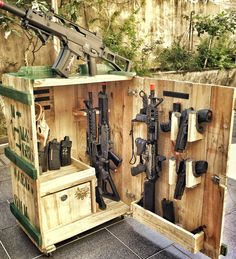 You are in the right place about Nerf Gun Storage . Informations About Airsoft crat Airsoft Storage, Nerf Gun Storage, Weapon Storage, Paintball, Secret Rooms In Houses, Tactical Wall, Reloading Room, Hidden Gun, Gun Rooms