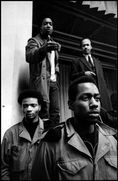 The Black Panther Party for Self-Defense (BPP) - Fred Hampton (top left).