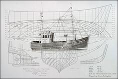fishing boat blueprints - Google Search