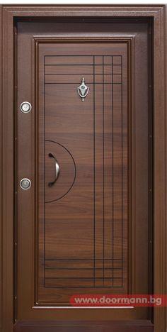 Блиндирана входна врата Код T305 Цвят Златен Дъб
